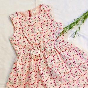 Crewcuts Pink Sleeveless Dress Cherries Size 8